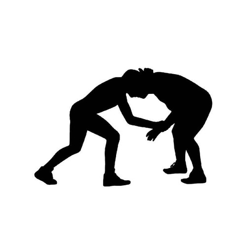 Wrestling 3 Vinyl Sticker