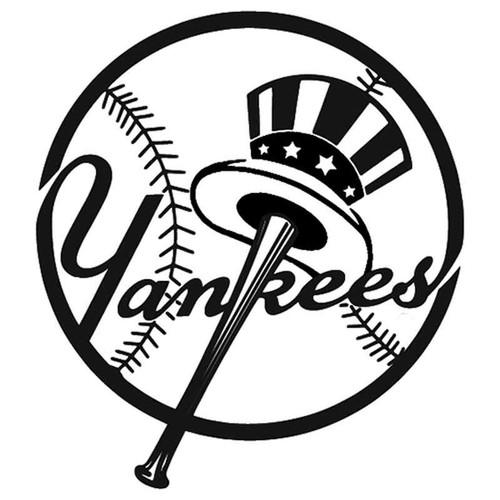Yankees Logo 02 125 Vinyl Sticker