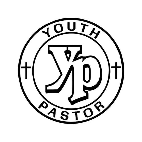 Youth Pastor Vinyl Sticker