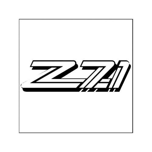 Z71 Chevrolet Silverado Vinyl Sticker