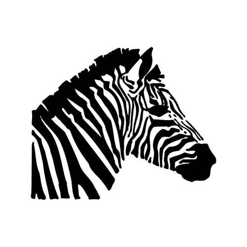 Zebra 1 Vinyl Sticker