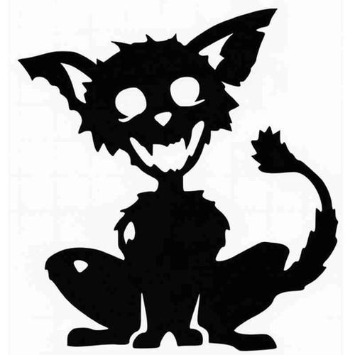 Zombie Cat 1094 Vinyl Sticker