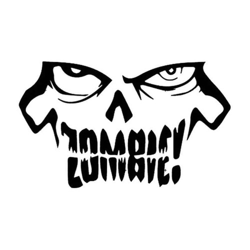 Zombie 538 Vinyl Sticker