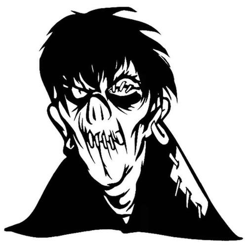Zombie 728 Vinyl Sticker