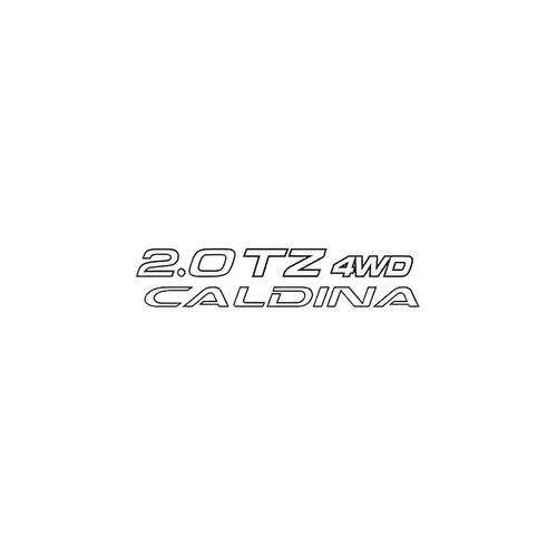 2.0Tz 4Wd Caldina Decal