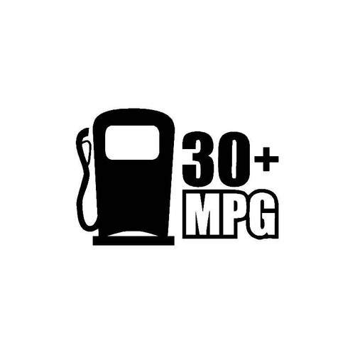 30 Mpg Decal