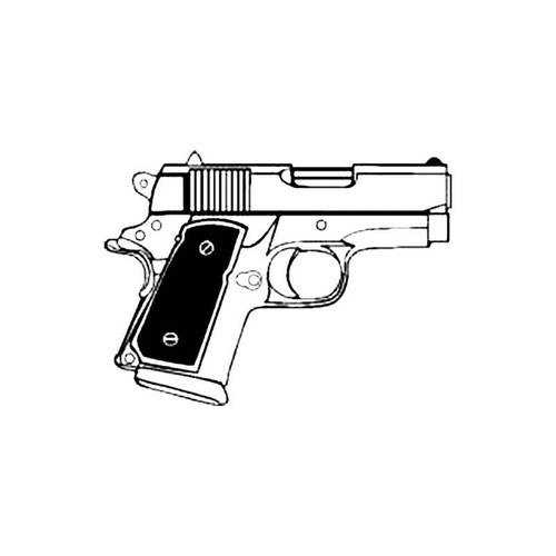 45 Calibre S Decal
