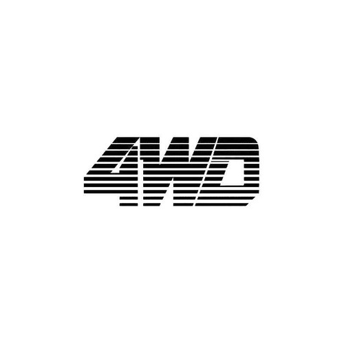 4Wd 150 Decal