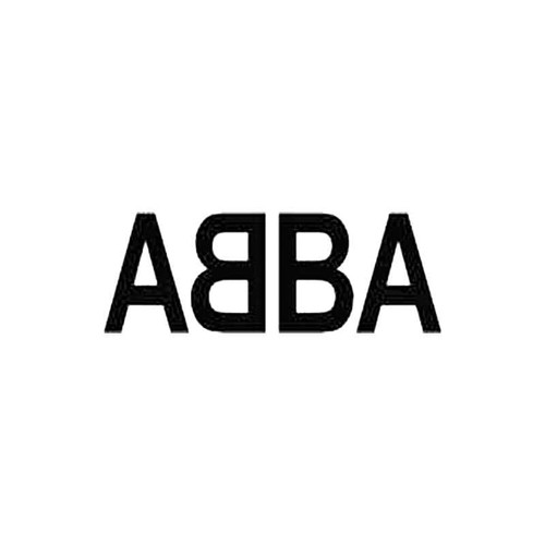 Abba S Decal