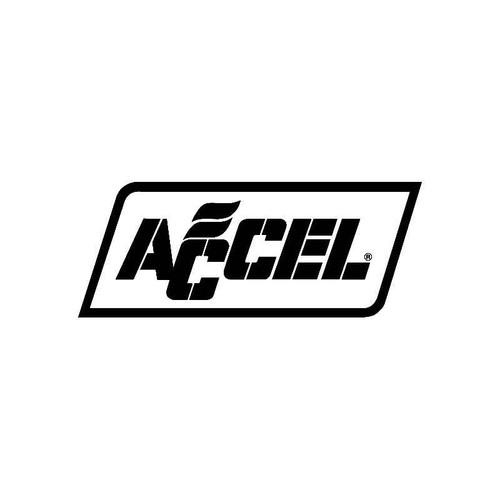 Accel 2 Logo Jdm Decal