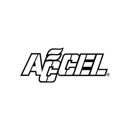 Accel Logo Jdm Decal