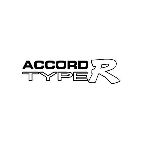Accord Type R Logo Jdm Decal