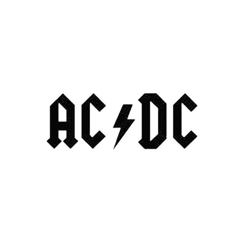 Ac Dc S Decal