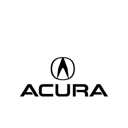 Acura Logo2 Logo Jdm Decal