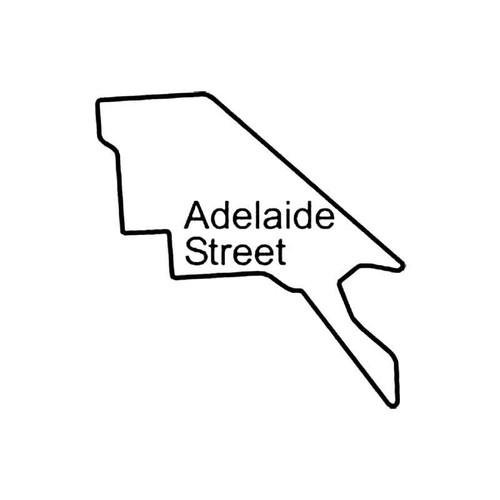 Adelaide Street Circuit Racetrack S Decal