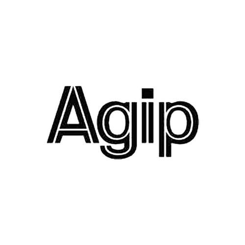 Agip S Decal