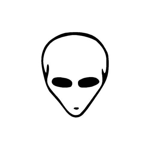 Alien Head 3 Decal