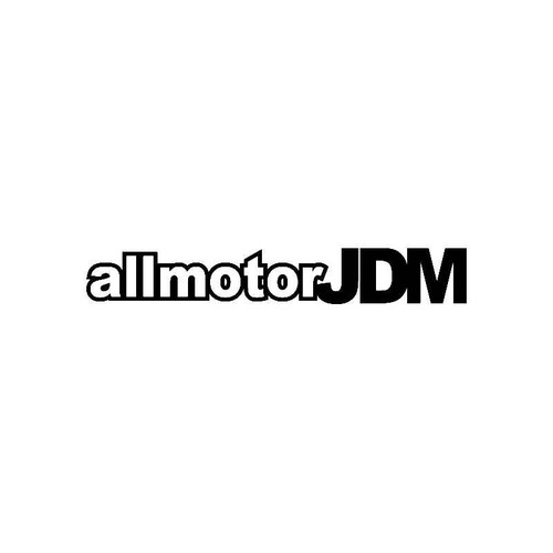 All Motor Jdm Jdm Jdm S Decal
