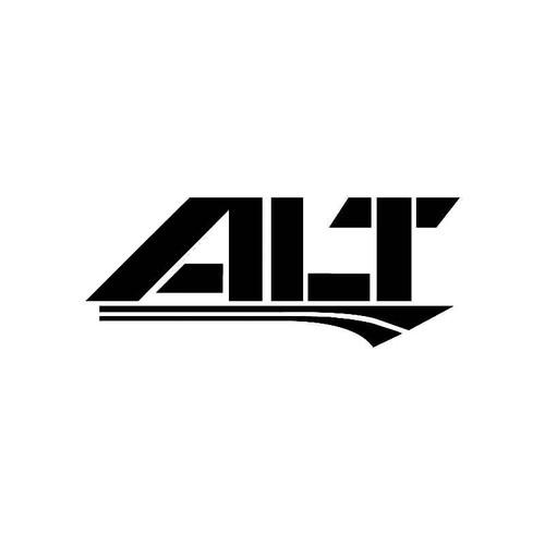Alt Logo Jdm Decal
