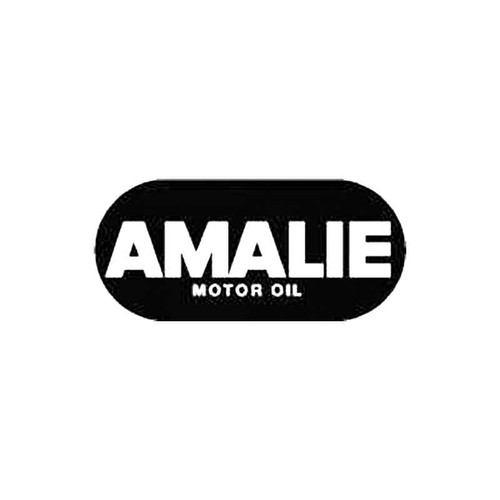 Amalie Motor Oil S Decal