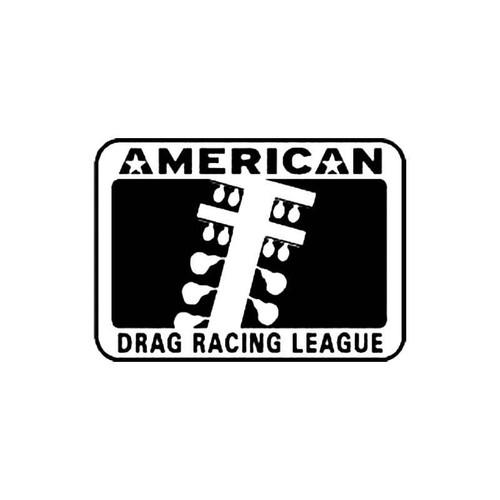 American Drag Racing League S Decal