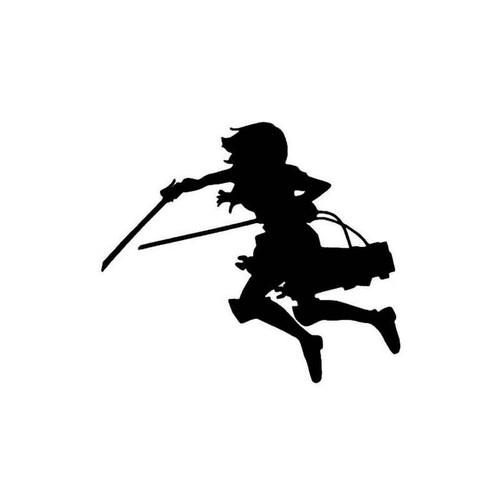 Anime Attack On Titan Mikasa Ackerman Decal