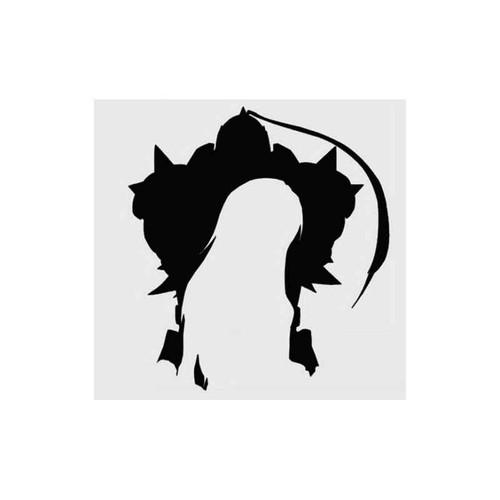 Anime Full Metal Alchemist Alphonse Elric Decal
