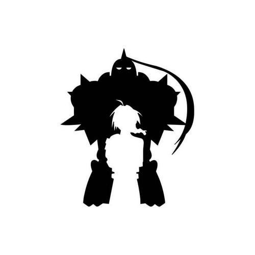 Anime Full Metal Alchemist Alphonse Elric Edward Decal