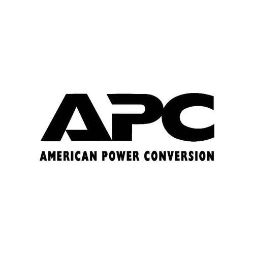 Apc Logo Jdm Decal