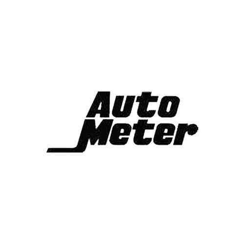 Auto Meter S Decal