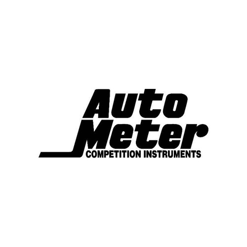 Auto Meter Logo Jdm Decal
