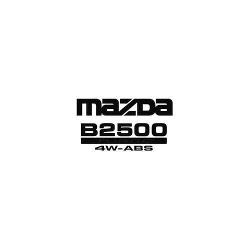 B2500 4X4 2 Decal