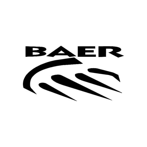 Baer 2 Logo Jdm Decal