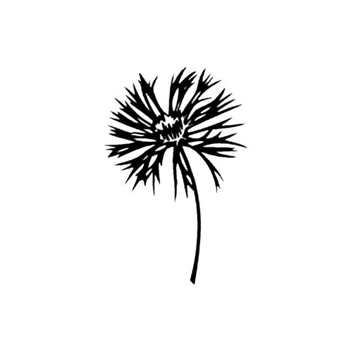 Basket Flower S Decal