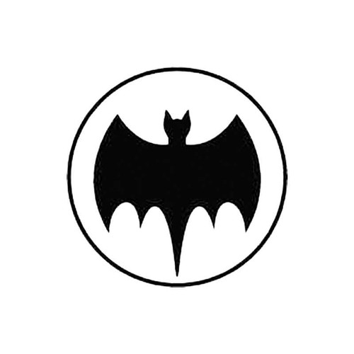 Batman Sign S Decal