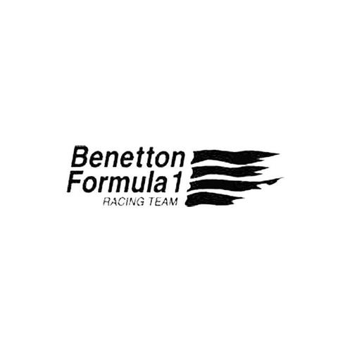 Benetton F1 Team S Decal