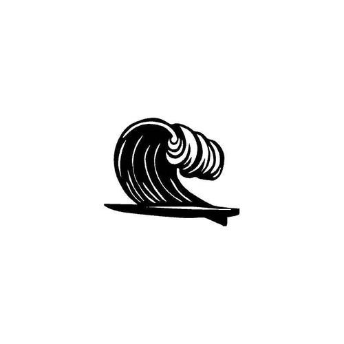 Big Wave Decal