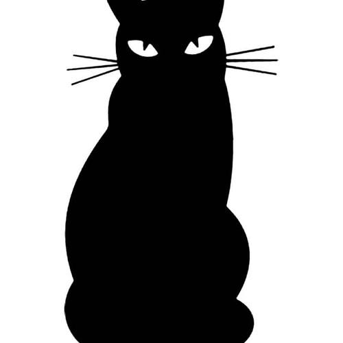 Black Cat S Decal