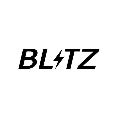 Blitz Logo Jdm Decal