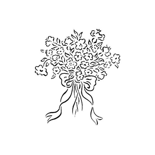 Bouquet C S Decal
