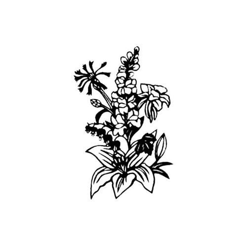 Bouquet S Decal