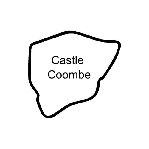 Castle Coombe Circuit Racetrack S Decal