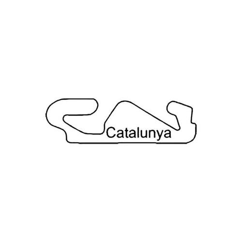 Catalunya Circuit Racetrack S Decal