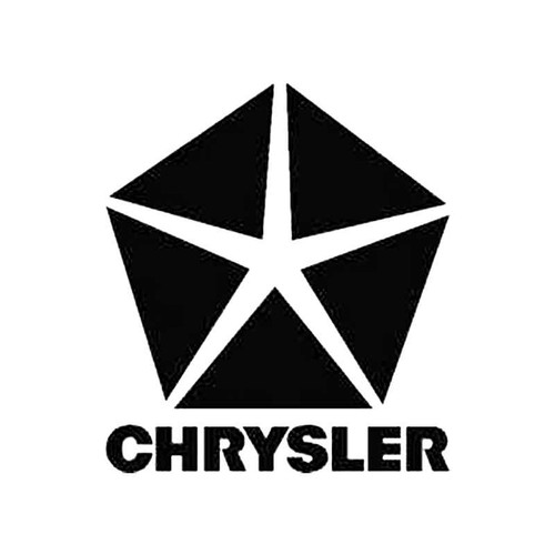 Chrysler B S Decal