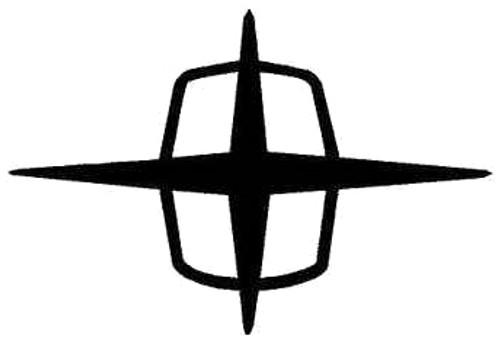 Classic Lincoln Star Emblem