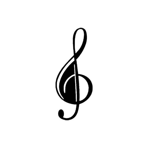 Clef S Decal