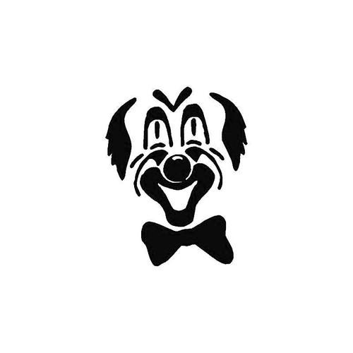 Clown Face Decal
