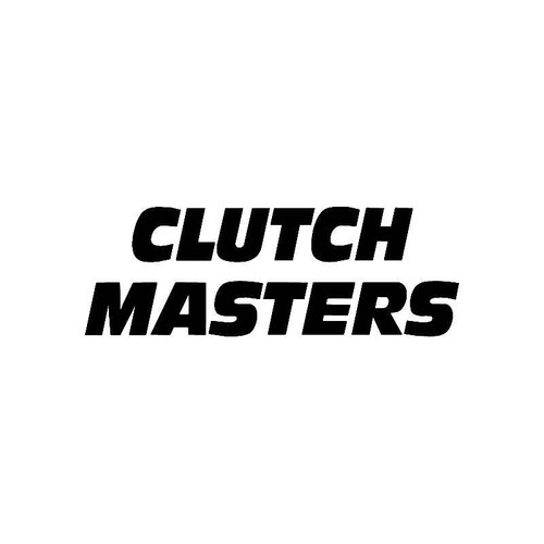 Clutch Masters Logo Jdm Decal