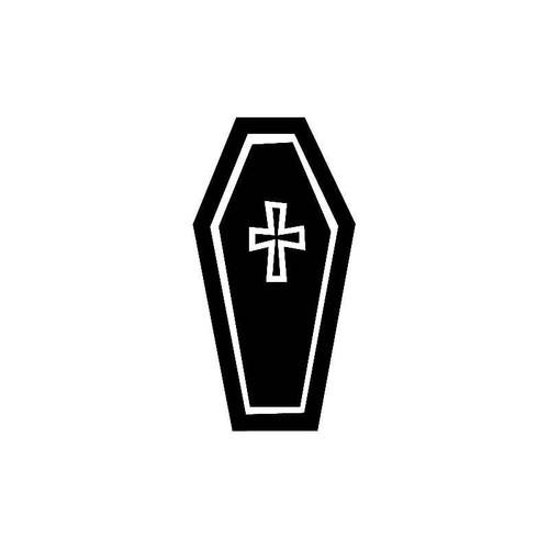 Coffin Lid Dark Decal