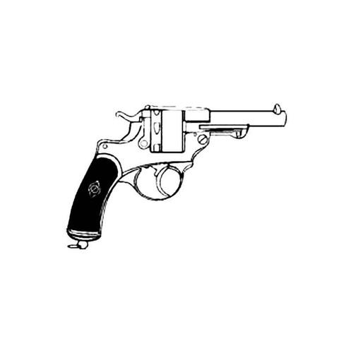 Colt 45 B S Decal